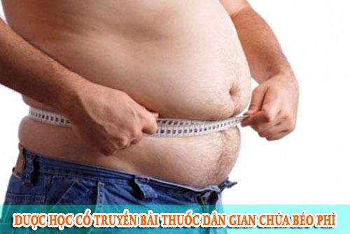 Dược học cổ truyền bài thuốc dân gian chữa béo phì