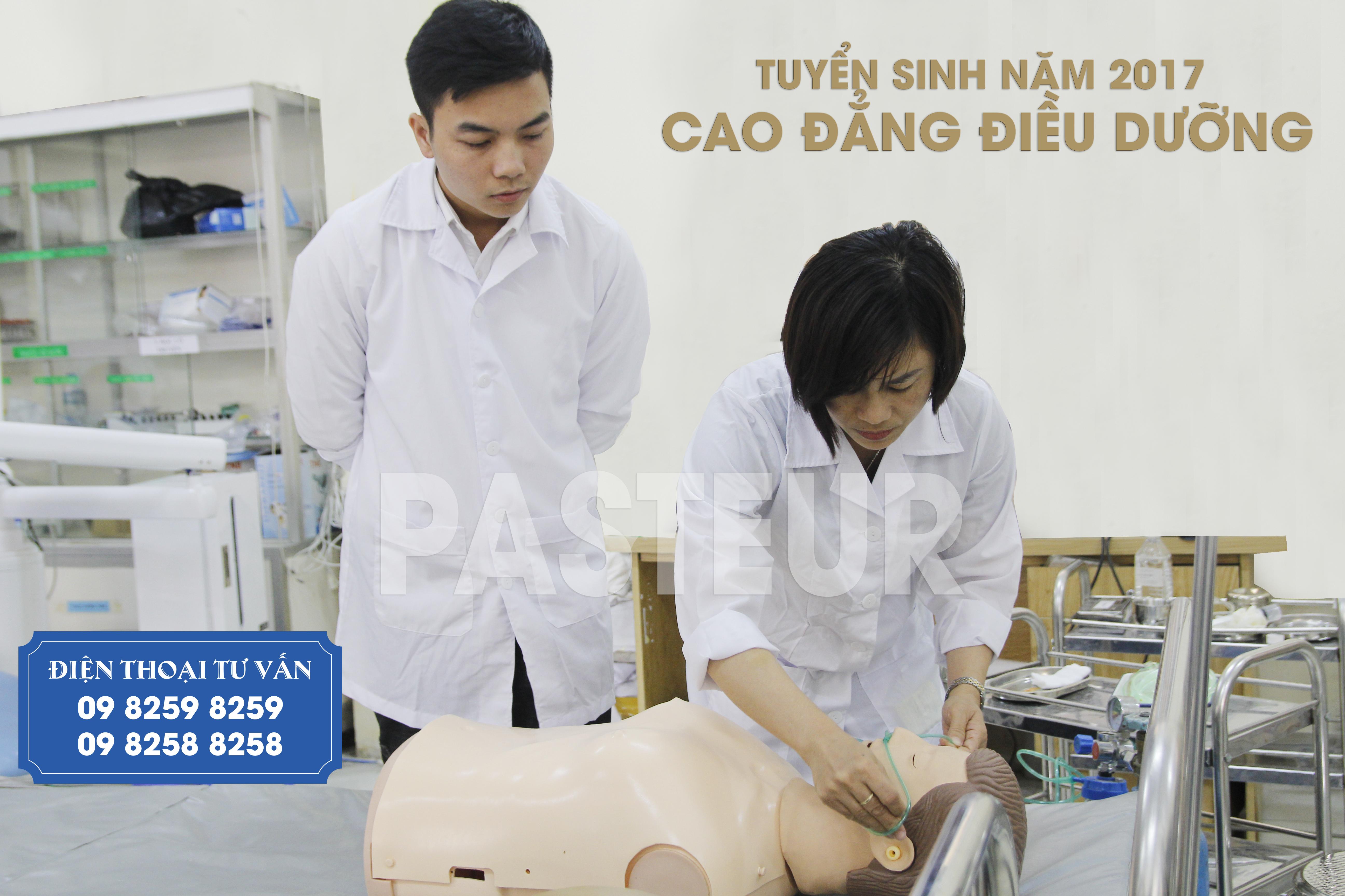 Đăng ký xét tuyển Cao đẳng Điều dưỡng tại Trường Cao đẳng Y Dược Pasteur