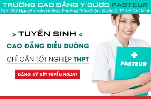 Cao đẳng Điều dưỡng tuyển sinh năm 2018