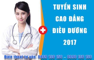 Tuyển sinh Cao đẳng Điều dưỡng tại HCM