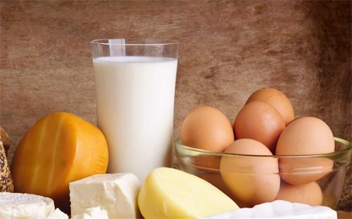 Trứng sữa và các sản phẩm từ sữa
