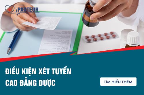 Điều kiện xét tuyển Cao đẳng Dược chính quy tại Sài Gòn