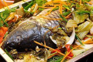 Món ăn bài thuốc từ cá trắm tốt cho tim mạch theo Y học cổ truyền