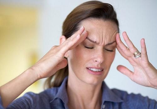 Biểu hiện đau đầu chủ yếu ở vùng đầu
