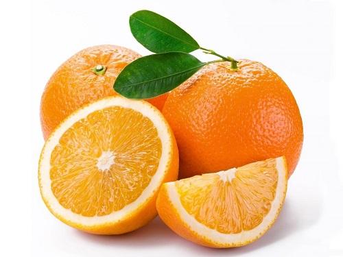 Cam và trái cây có múi rất tốt cho người thiếu máu