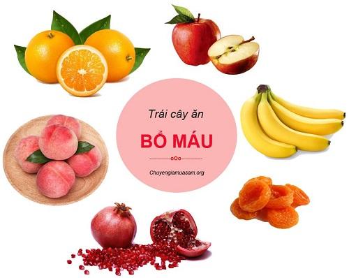 Thiếu máu nên ăn những loại trái cây nào?